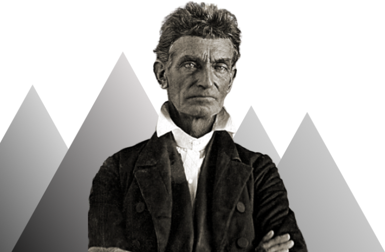 Image of John Brown with arms crossed